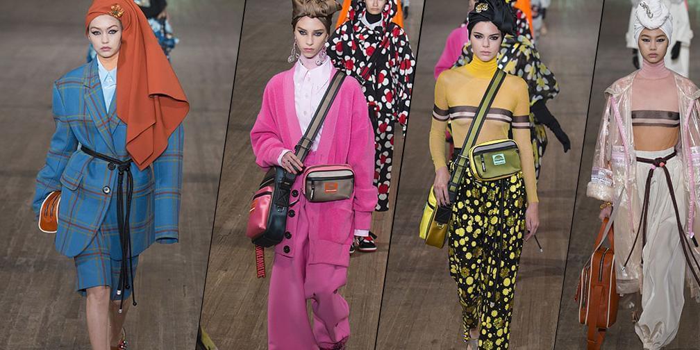Marc Jacobs2018春夏时装大玩色彩 致敬经典
