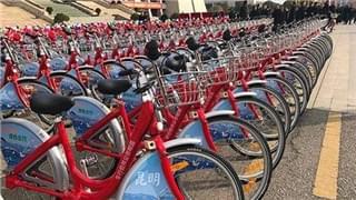 """首批2800辆""""小红车""""将投入昆明主城220个站点"""