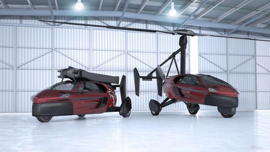 日内瓦车展还有直升飞机亮相 最快明年交付