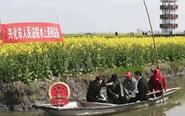 """兴化""""水上巡回法庭"""" 将庭审安排在鱼塘边"""