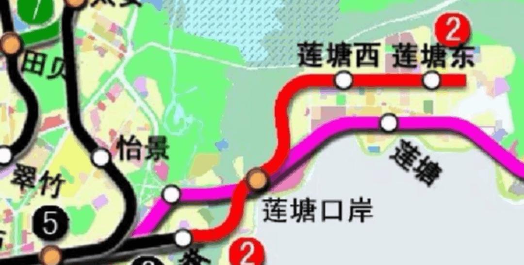 稍不留神,深圳地铁都建到这种程度了……