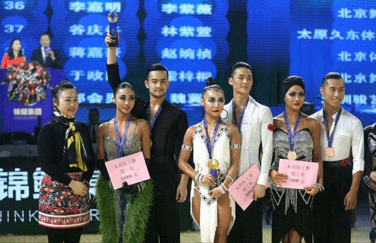 2017中国体育舞蹈公开系列总决赛深圳南山上演