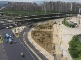 浦上大道拓宽已正式通车 新增了三车道辅路