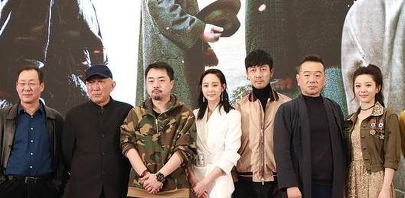 《长河落日》亮相上海 张钧甯首演谍战戏