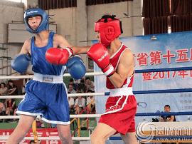 第十五届省运会拳击资格赛在运城市开锣
