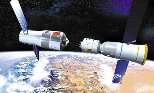中国航天大事记:首次载人交会对接任务顺利完成