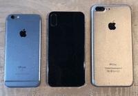 iPhone 8更多机模照现身:对比iPhone6s/7 Plus