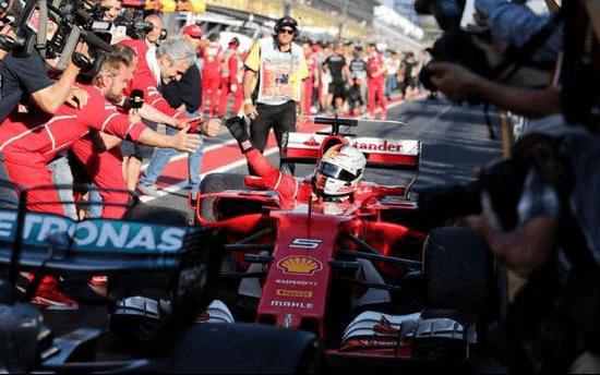 Swisse闪耀赛场助力法拉利F1车队激情夺冠