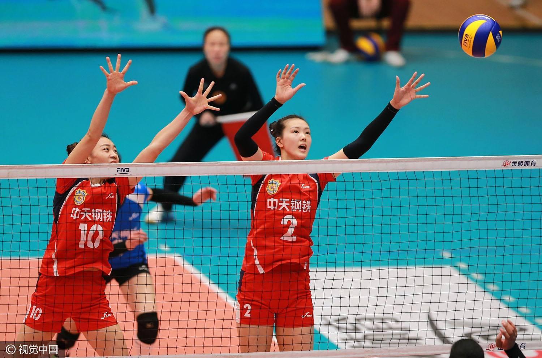 女排联赛八一3-0辽宁领跑小组 上海豪取八连胜