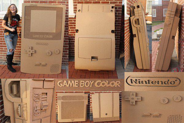 """不是恶搞是童年!全球玩家重新定义任天堂""""纸壳""""玩法"""