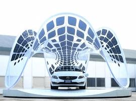 运城首家电动汽车充电站进入试运营阶段