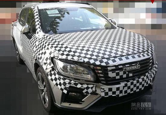 5座跨界SUV将推出 比速2018年产品规划曝光