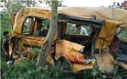 印度车祸致13名儿童遇难