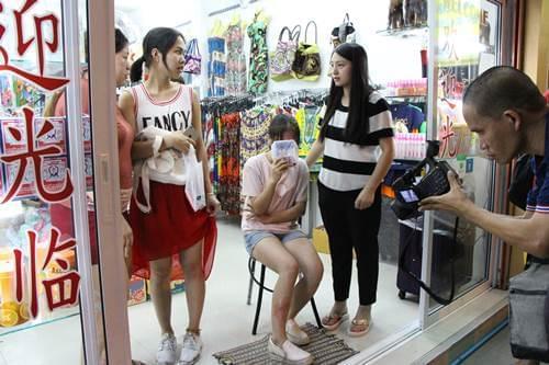 中国女学生在泰国遭抢劫被打晕