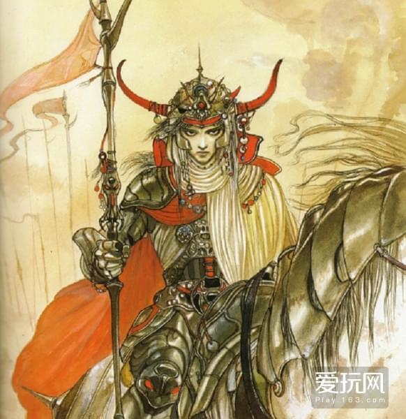 让人眼熟的画风,毕竟其第一任封面绘者——天野喜孝曾是《最终幻想》的御用画师