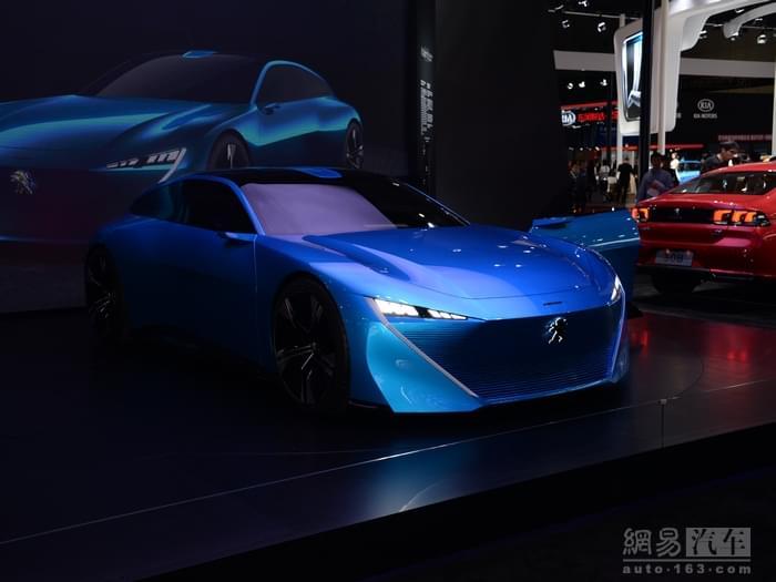 2017上海车展:标致Instinct概念车亮相