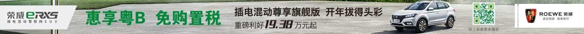 荣威新能源 送粤牌 免购置税