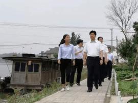 市委书记曲福田赴兴化调研特色田园乡村建设
