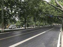 淄博张店人民路升级改造15日完工