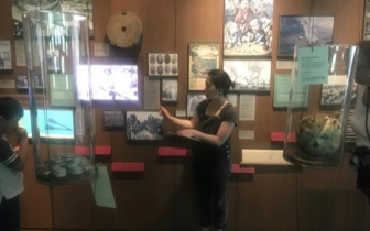 美华人博物馆介绍华工奋斗史 展现历史变革