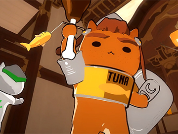 守望先锋猫化趣味动画:新英雄的武器竟让源氏疯狂