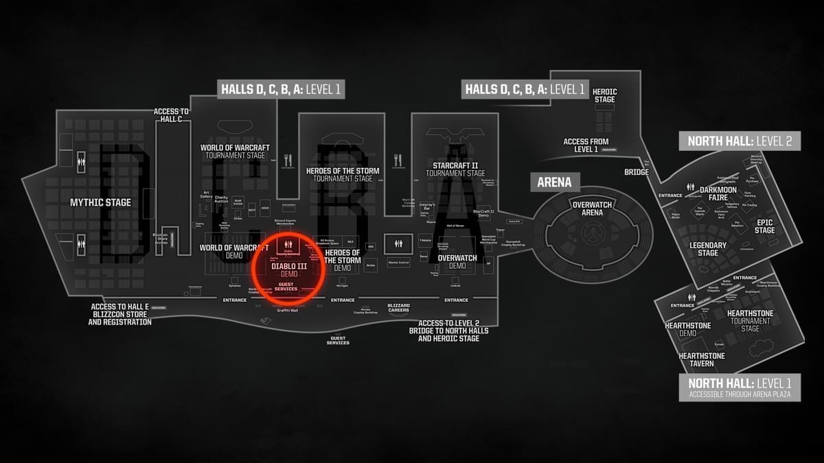 暴雪嘉年华上的暗黑:会有展会专属游戏内容体验