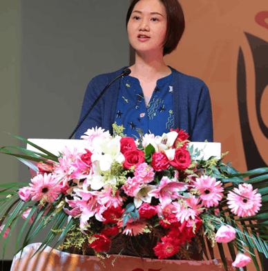 中拳体育有限公司副总裁陈艳致辞