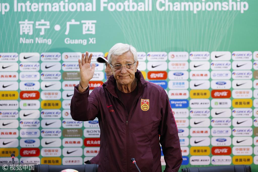 里皮:武磊在国足不是一塌糊涂 郑智有望打亚洲杯