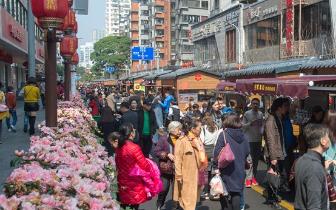 达明美食街成旅游新去处 3天日客流逾13万人次