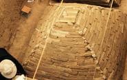 郑州工地发现金字塔状古墓