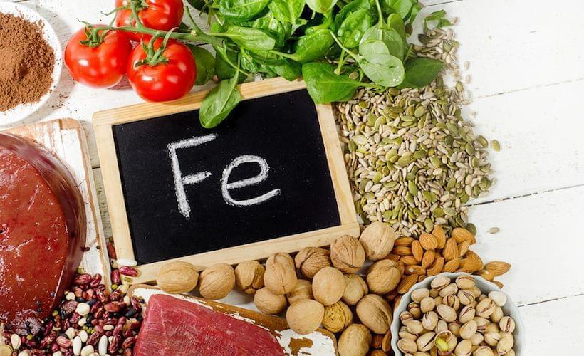 素食跑者易患缺铁性贫血 10种食物补铁
