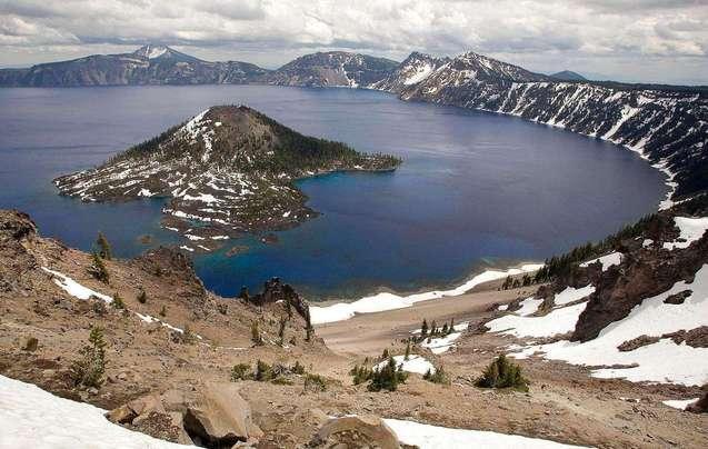 火山湖的别样之美