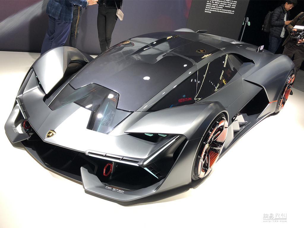 预展未来设计方向 兰博基尼概念超跑首发
