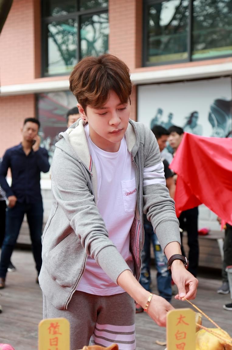 《那抹属于我的星光》开机 徐海乔孟子义搭档