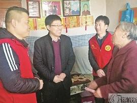 """共青团闻喜县委志愿服务促""""农村卫生家庭""""创建"""