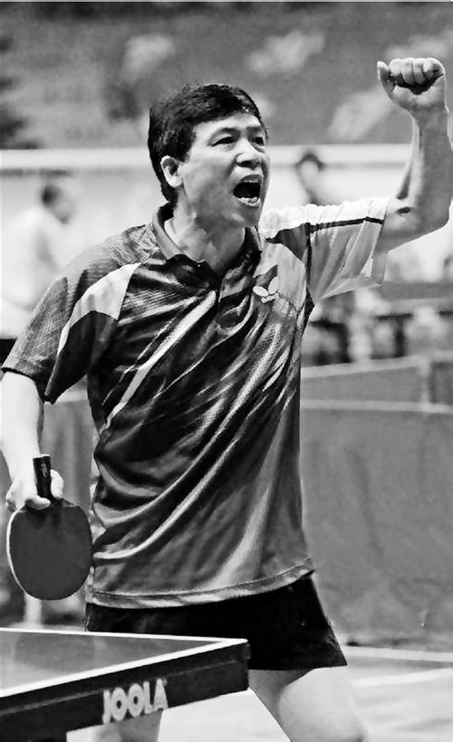 杭州业余乒乓球里的孩子王,曾和奥运冠军马琳过招