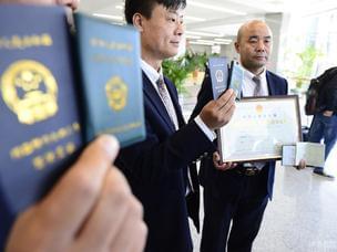 北京首发31张网约车车辆运输证