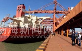 曹妃甸港第一季度吞吐量创历史新高