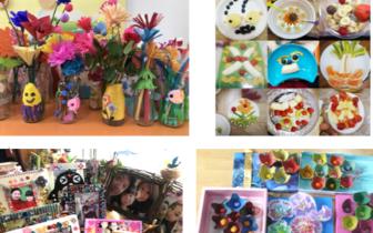 市南区教育第五幼儿园举行三八节感恩主题活动