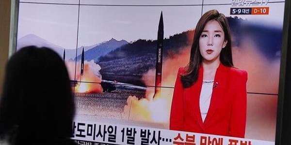 韩国军方称朝鲜试射导弹失败