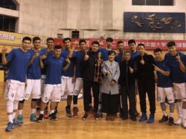 山大男子篮球队荣获山西省CUBA冠军