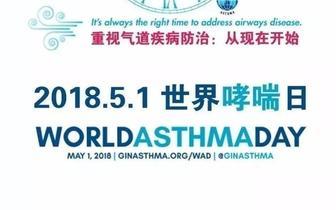 世界哮喘日丨重视气道疾病防治:从现在开始
