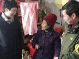 卢氏县直各单位冬日 抗寒送暖助脱贫