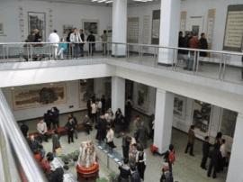 山西艺术节:老太原72行碳素笔画展在省图开展