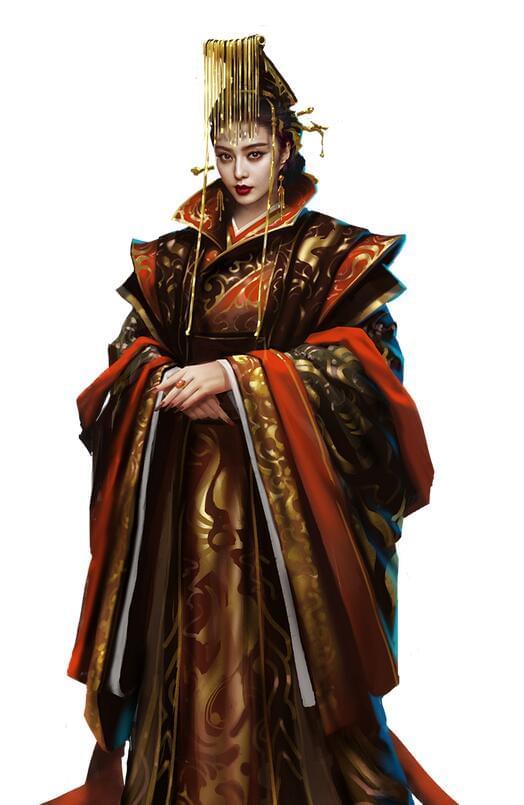 范冰冰再披龙袍 女皇复登帝位引发热议