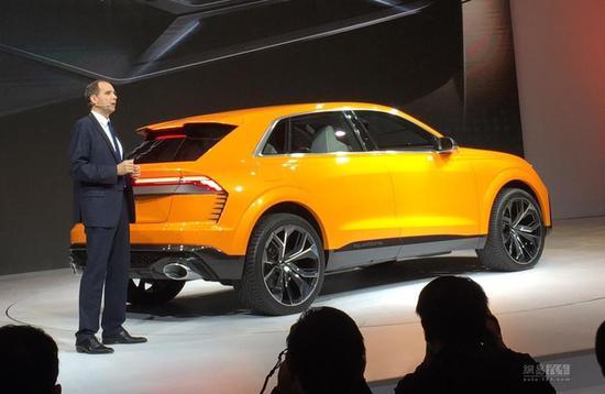 和X6 M做朋友 奥迪Q8 Sport将2018年量产