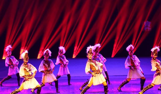 呼市昭君文化节 少数民族优秀舞蹈视觉盛宴