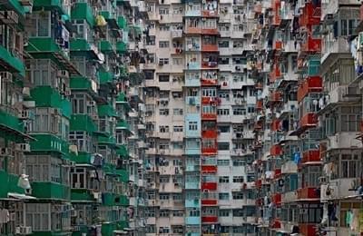 传说中的香港鸽子笼 密恐慎入!
