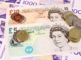 经济数据和脱欧谈判双重困扰 英镑兑美元跌至两周新低
