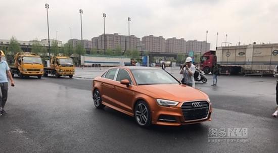 2017上海车展探馆:新款奥迪A3 S line